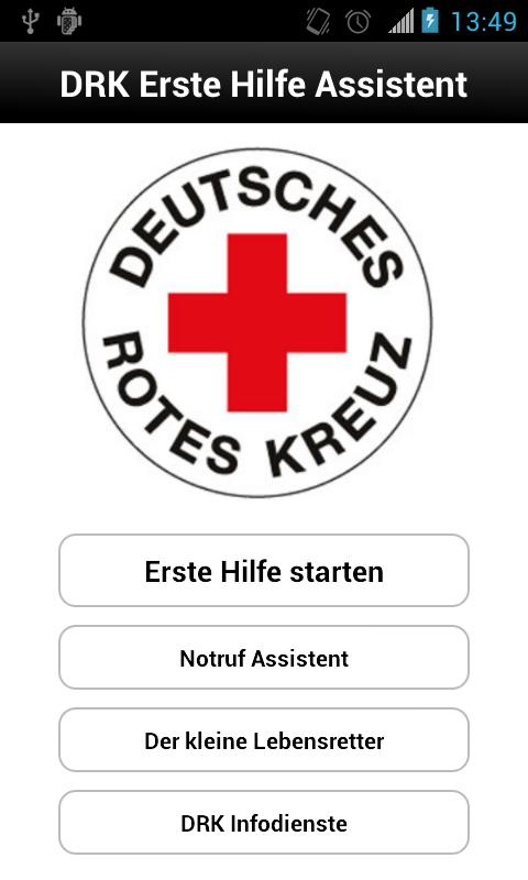 Erste Hilfe DRK- screenshot