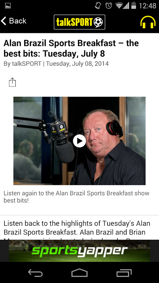 talkSPORT - screenshot