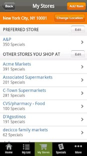 Shopping List from Recipe.com - screenshot thumbnail
