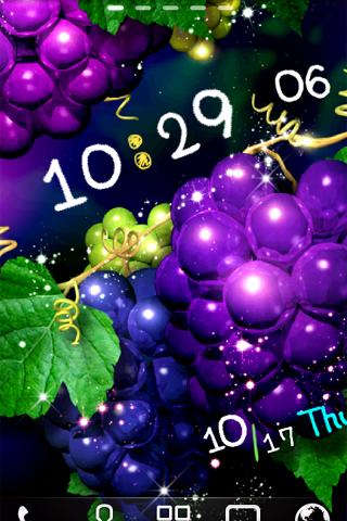 Grape ライブ壁紙