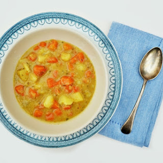 Winter Vegetable Soup.