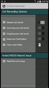 Dr.Ketan Auto Call Record - screenshot thumbnail
