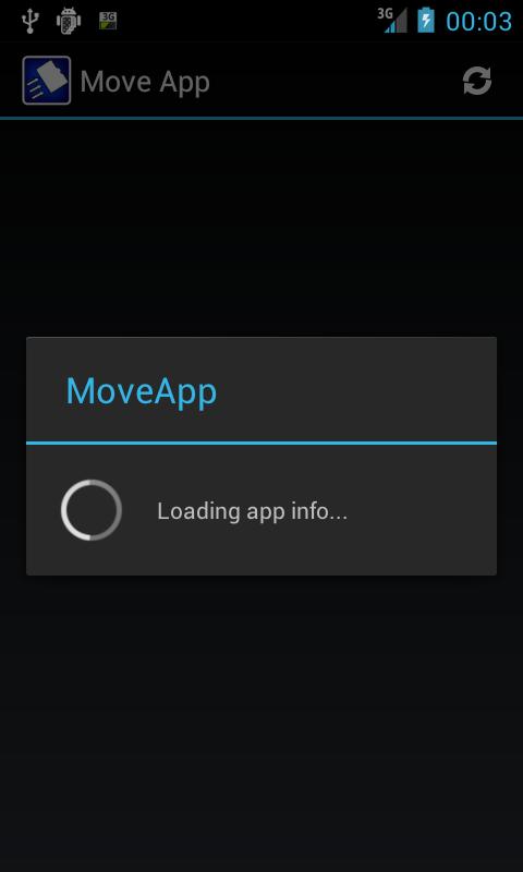 Move App ( App 2 SD )- screenshot