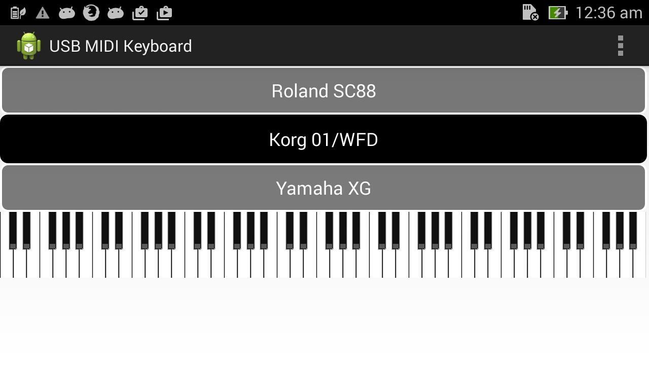 Usb Midi Keyboard Android Apps On Google Play