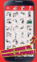 Screenshot of My Chat Sticker Love Story