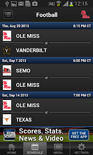 Ole Miss Sports - screenshot thumbnail