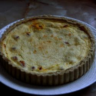 Gammon, Tomato And Cheese Flan