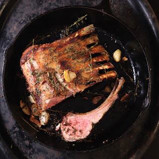 Rack of Lamb with Rosemary and Thyme