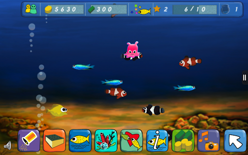Game doodle fish farm apk for windows phone android for Fish farm games