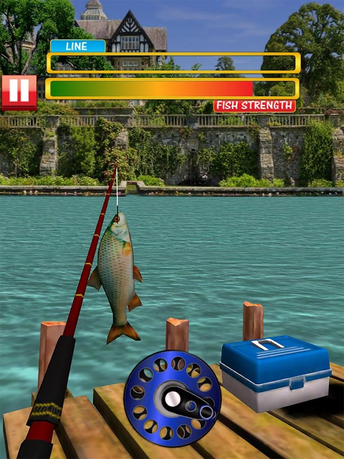 Real fishing pro 3d android apps on google play for Fishing game android