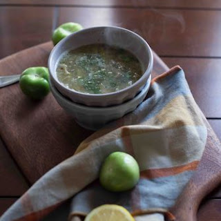 Beef Shoulder in a Roasted Tomatillo Salsa