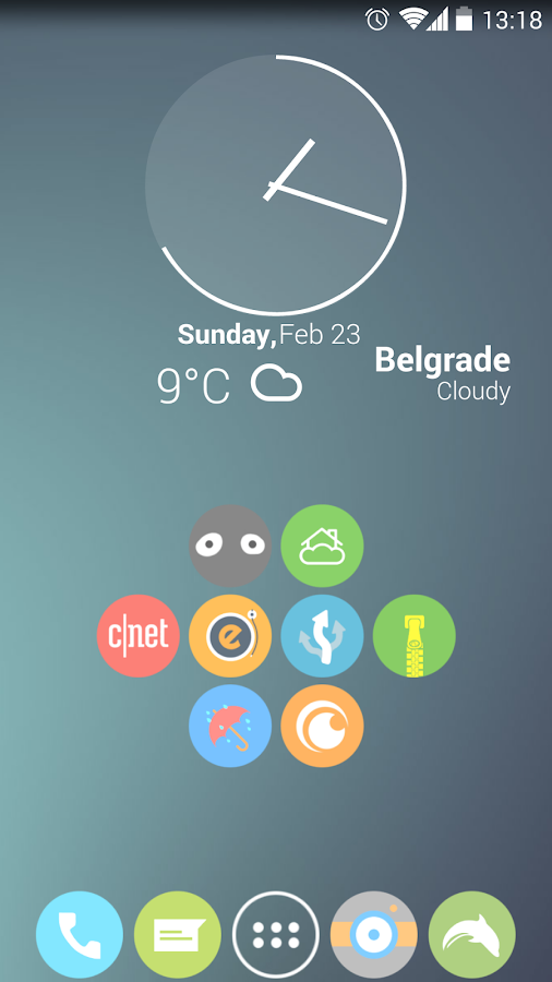 Cryten - Apex, Nova, Adw Theme - screenshot