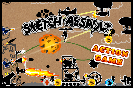 Sketch Assault