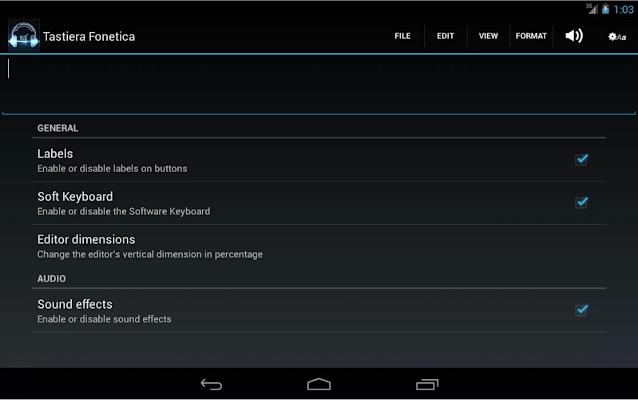 IPA Phonetic Keyboard LITE - screenshot