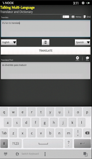 Talking Translator /Dictionary - screenshot thumbnail