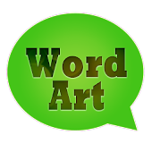 WordArt Chat Sticker