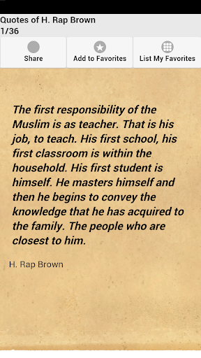 Quotes of H. Rap Brown