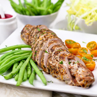 Pan Seared Orange & Rosemary Pork Tenderloin [that