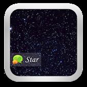 GO SMS StarrySky Theme