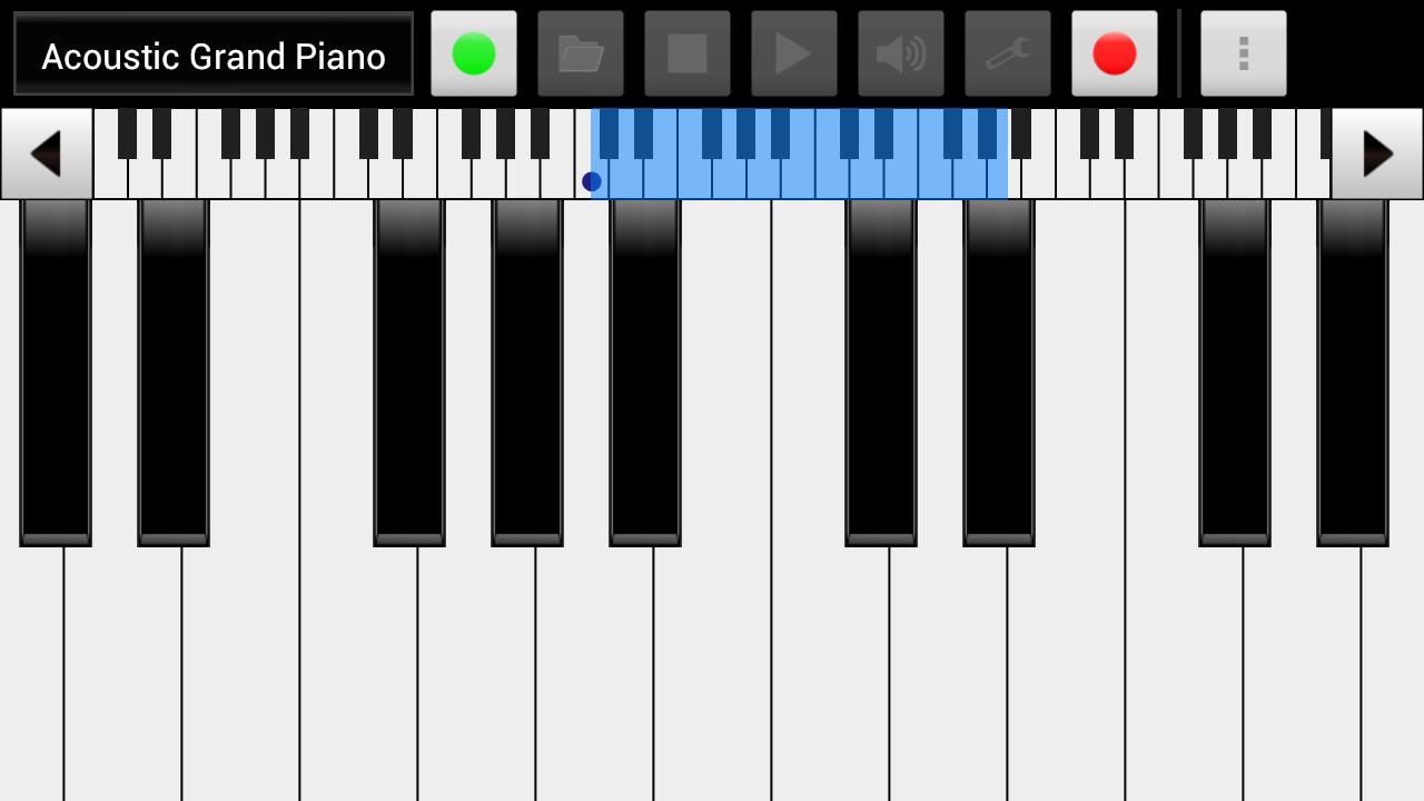 xPiano+ - screenshot