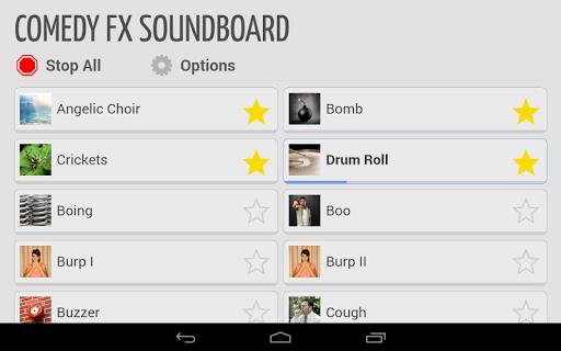 Comedy FX Soundboard