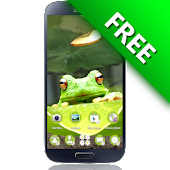 Cute Frog GO Launcher EX Theme