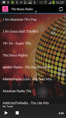 70s Music Radio Stations - screenshot