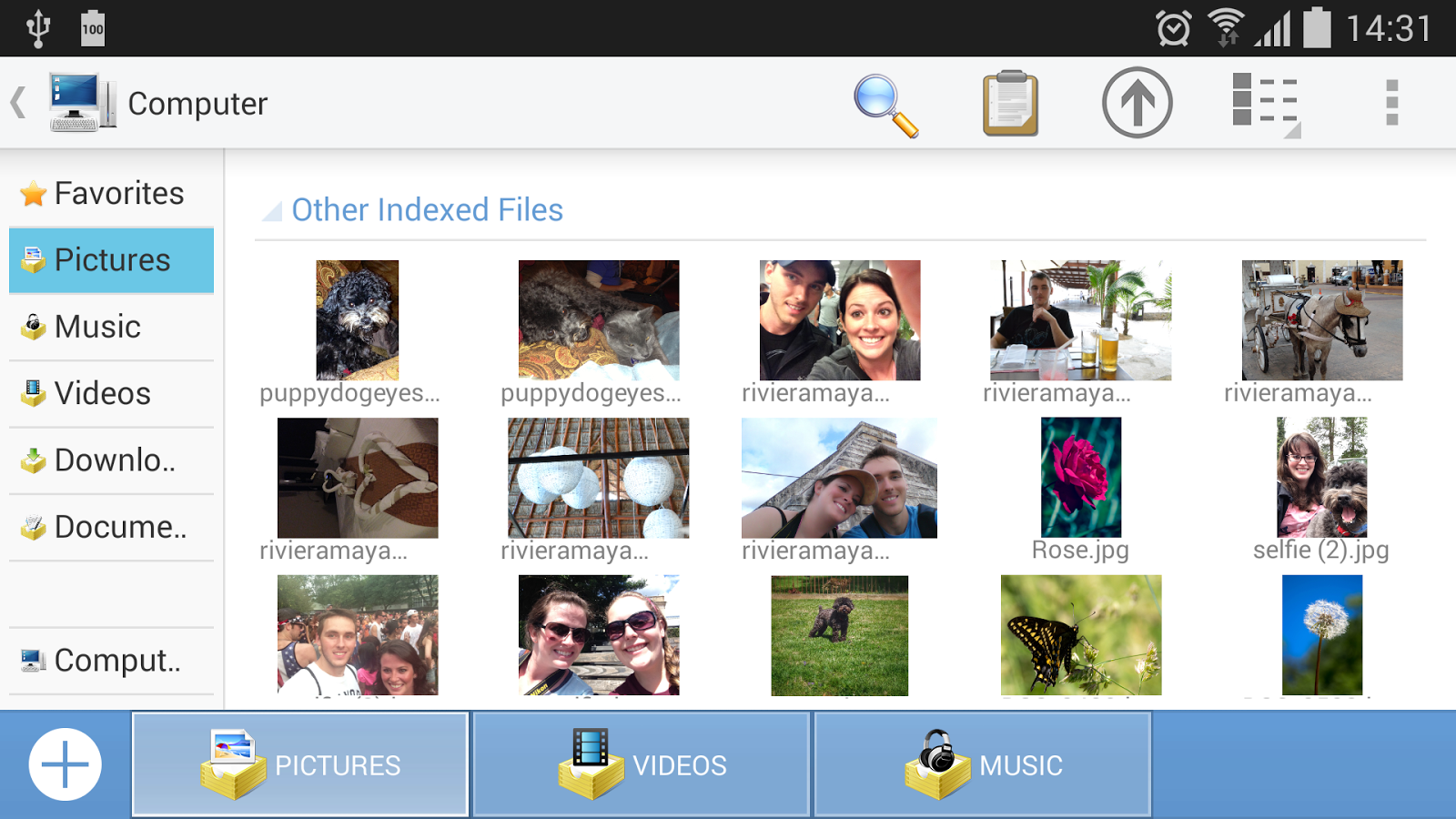 Computer File Explorer - screenshot