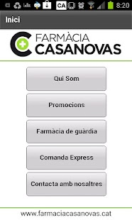 Farmàcia Casanovas- screenshot thumbnail