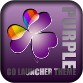 Purple Theme GO Launcher EX