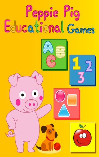 Peppie Pig Educational Games