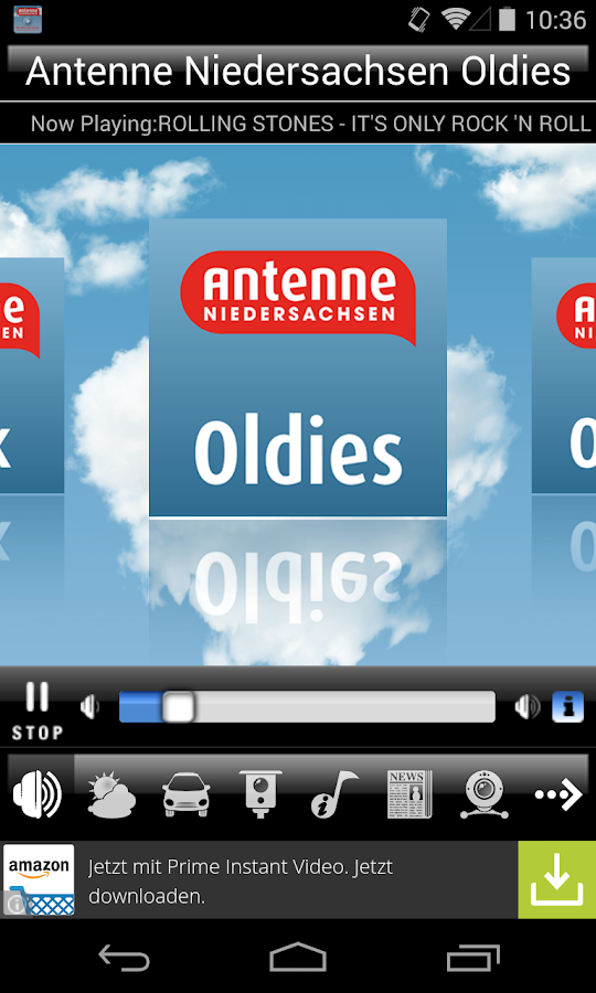Antenne Niedersachsen- screenshot