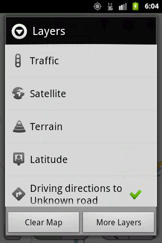 Locator and Navigator- screenshot