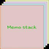 Memo Stack Widget
