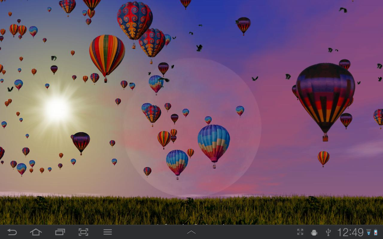 Hot Air Balloons Wallpaper Screenshot 6