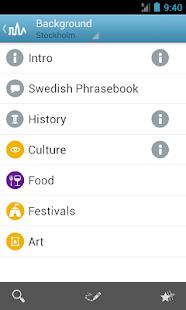 Stockholm Travel Guide Triposo - screenshot thumbnail