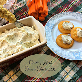 Garlic Herb Cream Cheese Dip.