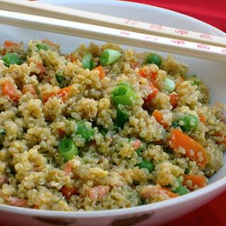 Quinoa & Vegetable Stir Fry.