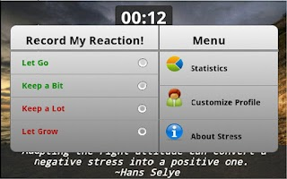 Screenshot of Let Go Stress