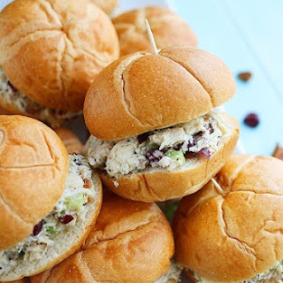 Sonoma Chicken Salad Sandwiches.