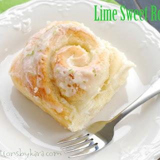Lime Sweet Rolls
