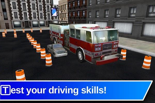 Top Fire Truck 3D Parking - screenshot