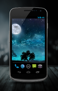Dream Night Free LiveWallpaper - screenshot thumbnail