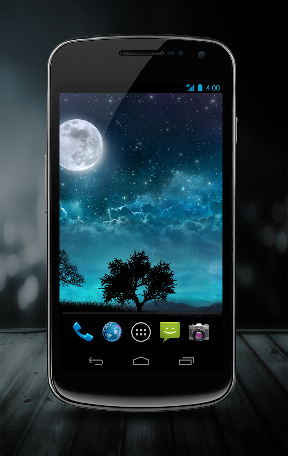 Dream Night Free LiveWallpaper - screenshot