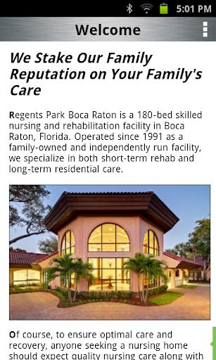 【免費醫療App】Regents Park of Boca Raton-APP點子