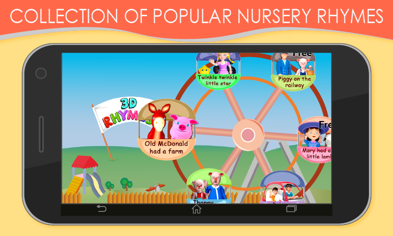 3D Nursery Rhymes for Kids - screenshot