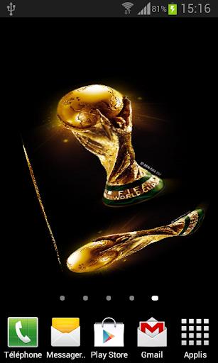 World Cup Live Wallpaper 3D