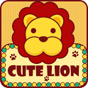 Cute Lion GO LauncherEX Theme icon