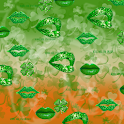 Sparkle Kiss Me, Lucky Lips logo