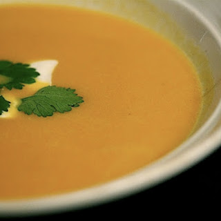 Curried Sweet Potato Soup.